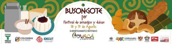 Cajicá sede de Busongote: Primer Festival de Amasijos y Dulces