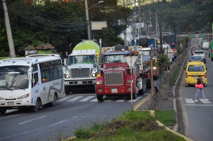 Todo listo para el nuevo horario de restricción del tráfico pesado en Chía.