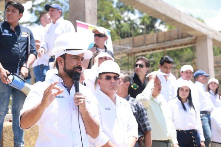 Gobernador Jorge Rey cumple su palabra en la provincia del Sumapaz