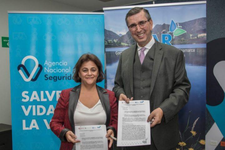 CAR y Agencia Nacional de Seguridad Vial se unen para fortalecer proyecto BICICAR