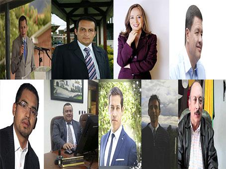 ¿Entre ellos estará el nuevo alcalde?  A un año de elecciones ya se muestran precandidatos