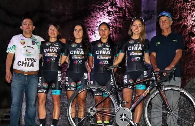 IMRD CHÍA MONSERRATE EN LA VUELTA A COLOMBIA FEMENINA