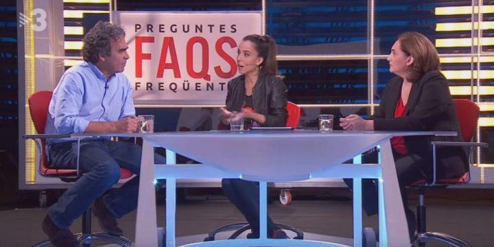 El incómodo momento de Sergio Fajardo al ser entrevistado en catalán