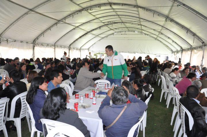 Chía celebró el día comunal, el 'regalo' 800 millones para las Juntas.