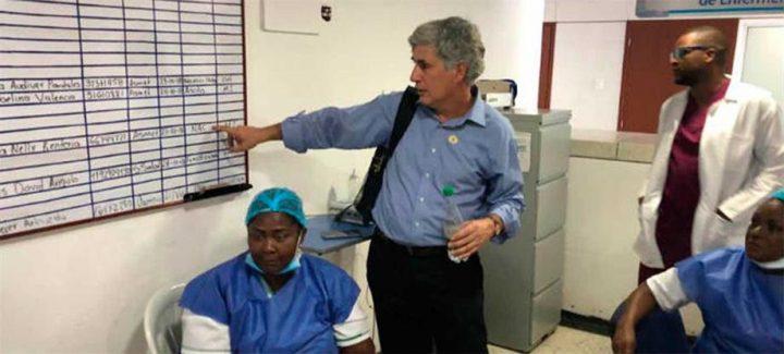 'Nuestro compromiso es acompañar permanentemente a Buenaventura y normalizar el servicio de salud': Ministro de Salud