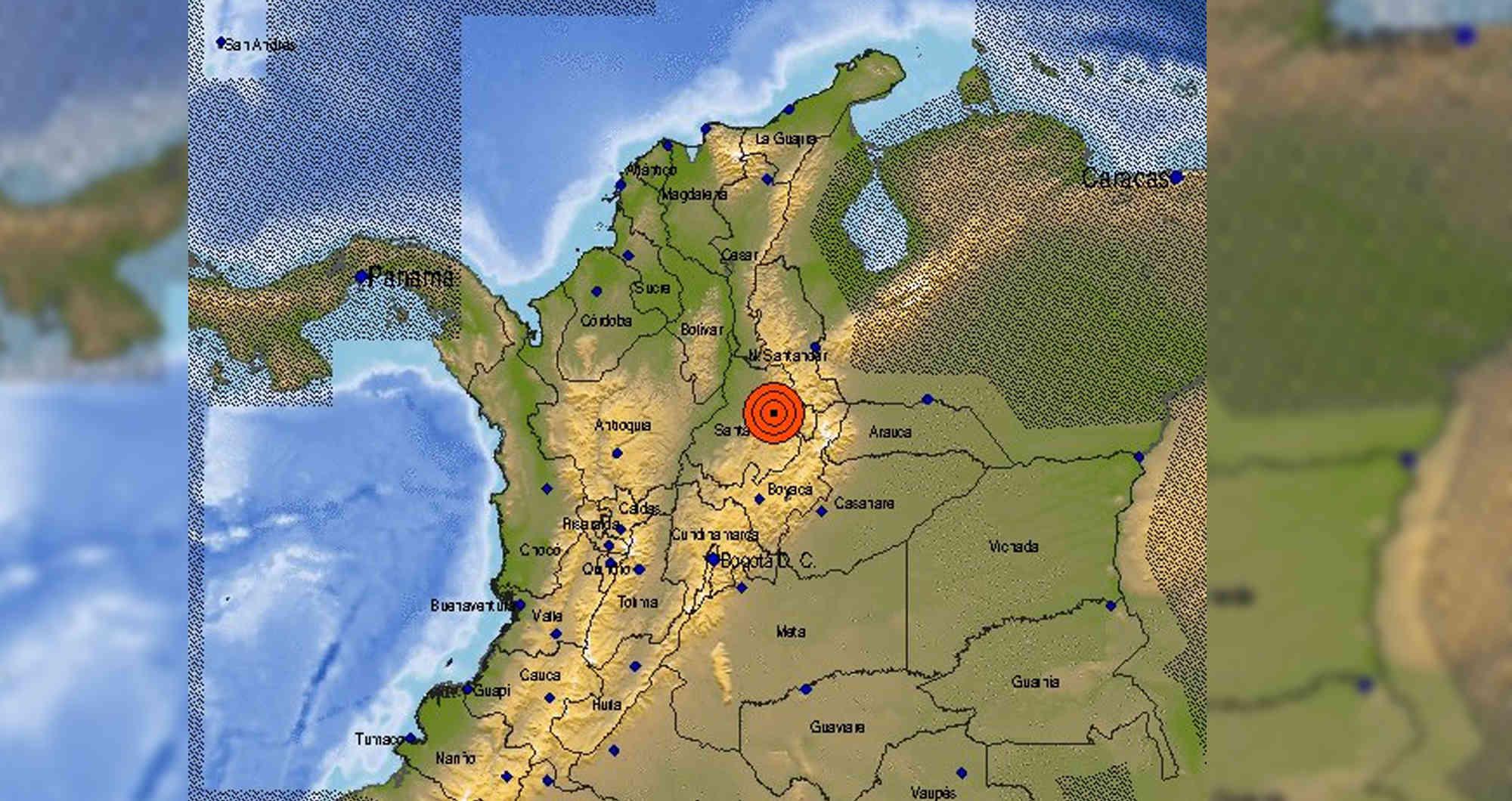 Fuerte temblor de 5.4 grados se sintió en varias regiones del país