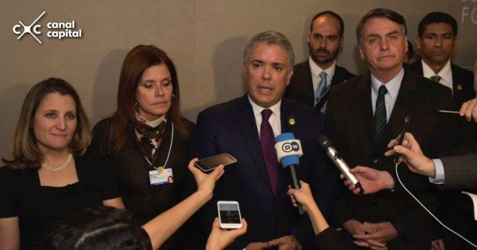 Duque reconoce a Juan Guaidó como presidente interino de Venezuela