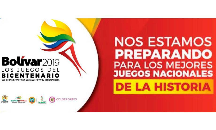 Gobierno garantiza recursos para Juegos Nacionales 2019 que se realizarán en Bolívar
