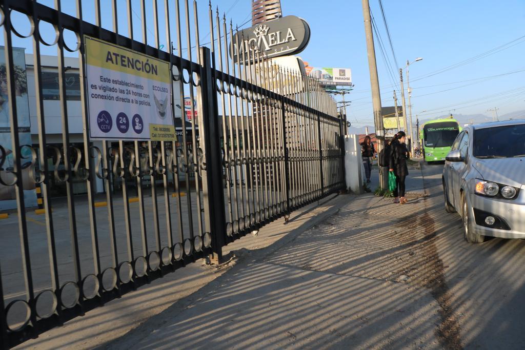 Inician trabajos previos para la construcción de los andenes en la Avenida Pradilla.