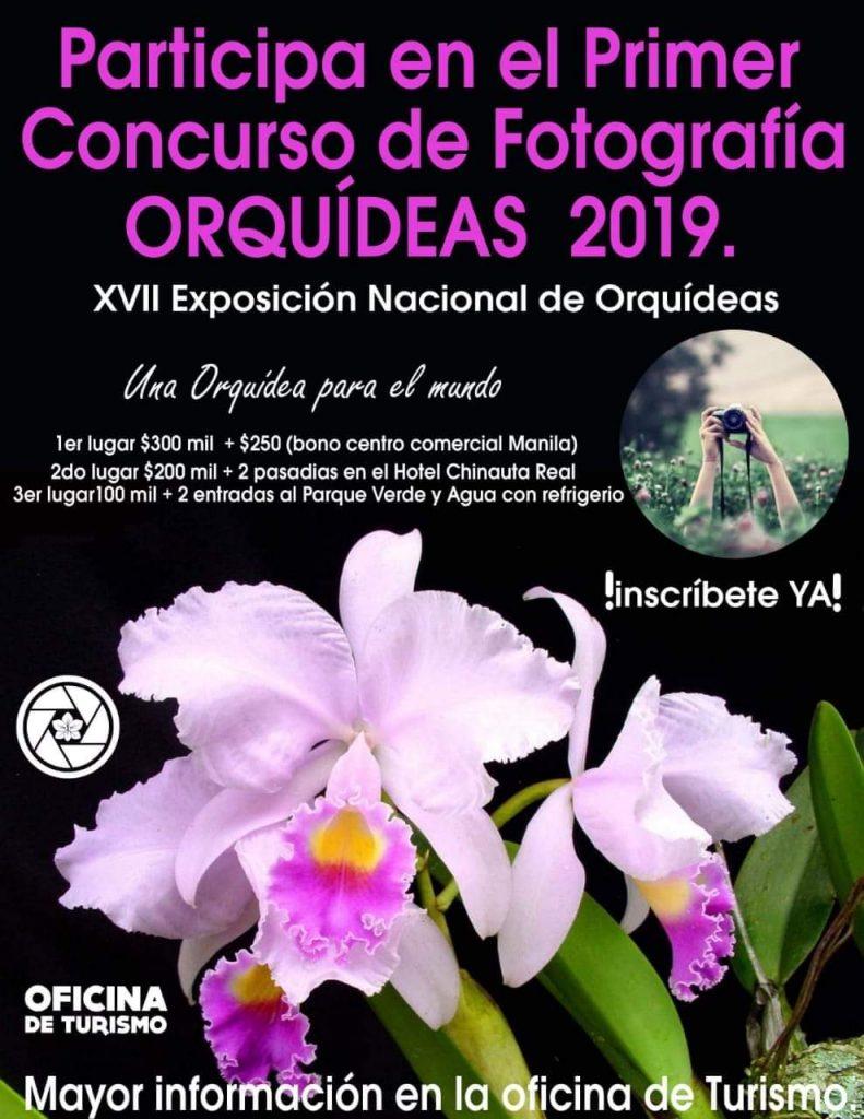 XVII Exposición nacional de Orquídeas.  1er Concurso de Fotografia