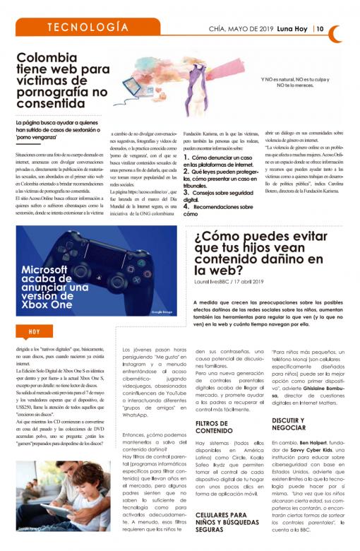 Edición Impresa Mayo 2019 Luna Hoy