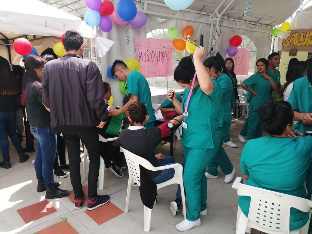 Chía celebró el Día Mundial de la Salud.