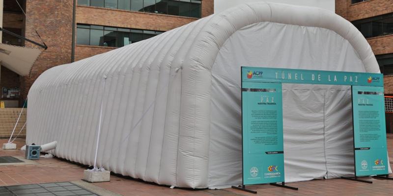 El Túnel de la Paz, un escenario para ponerse en los zapatos de las víctimas