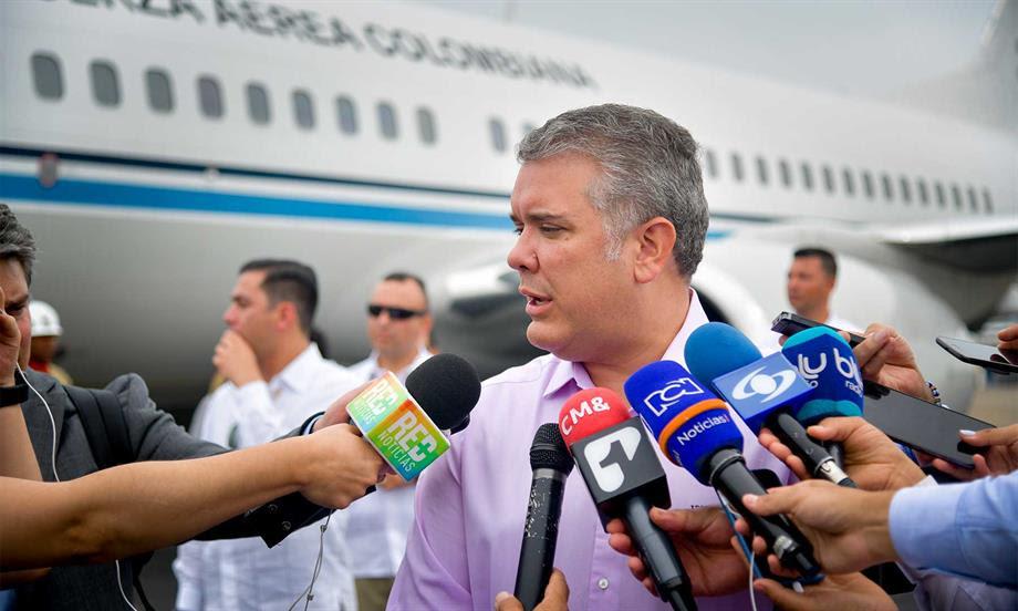 El mundo tiene que saber que desde Venezuela se está violando el derecho internacional y propiciando el terrorismo: Presidente Iván Duque