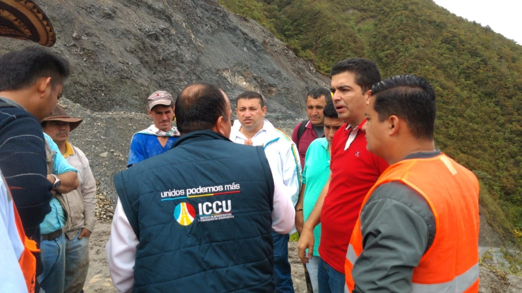 Cundinamarca y el Sistema Departamental de Gestión del Riesgo de Desastres le cumplen a Guayabetal