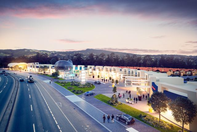Así será el nuevo 'mall' en la variante Chía-Cajicá
