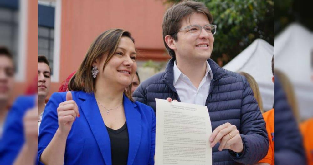 Ángela Garzón renuncia al Centro Democrático
