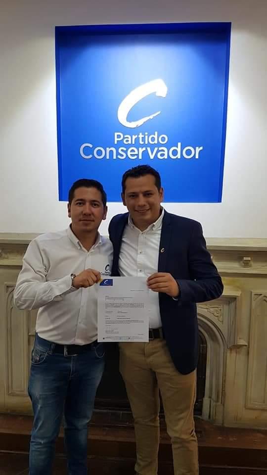 El Partido Conservador avala a Luis Carlos Segura, como candidato a la Alcaldia de Chía