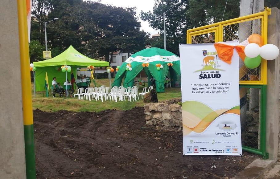 Secretaría de Salud se unió a la entrega de obras del alcalde Donoso