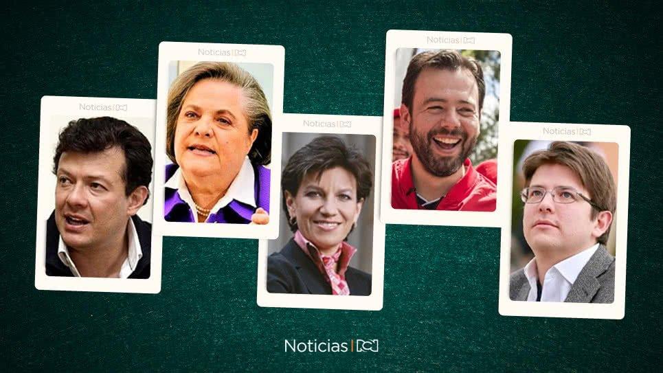 Así está la baraja de candidatos a la Alcaldía de Bogotá