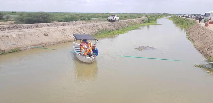 Gobierno entrega obras de restauración ambiental en la Ciénaga Grande del Magdalena