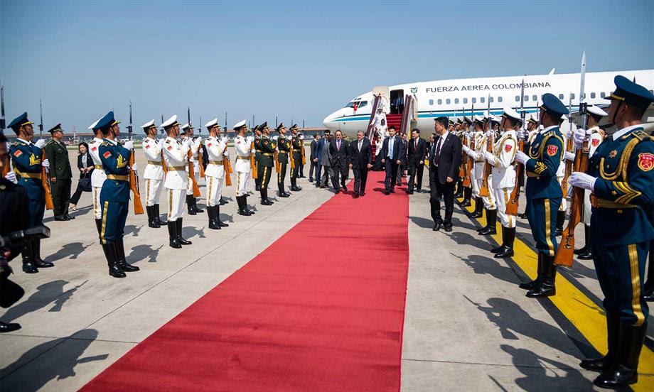 Presentación de oportunidades en infraestructura y nuevas tecnologías, parte de la productiva agenda del Presidente Duque con inversionistas chinos