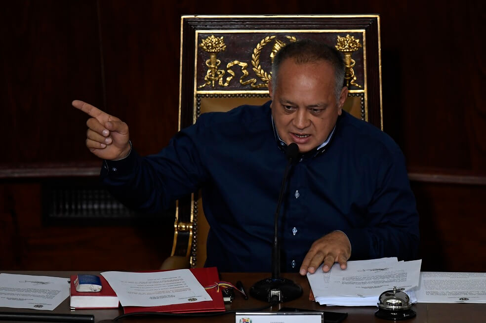 ¿Diosdado Cabello está negociando por debajo de cuerda con la Casa Blanca?
