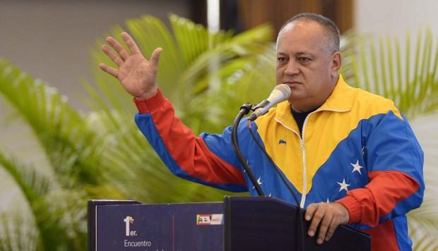 Diosdado Cabello niega que Venezuela apoye a las Farc