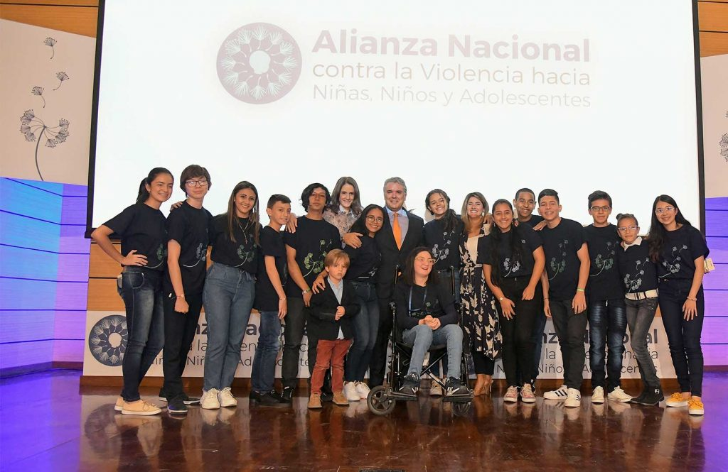 Presidente Duque explica conjunto de acciones que buscan erradicar la violencia contra los menores de edad en Colombia