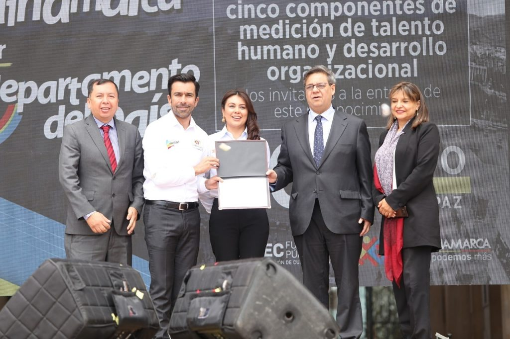 Cundinamarca, primer departamento del país en desempeño institucional territorial