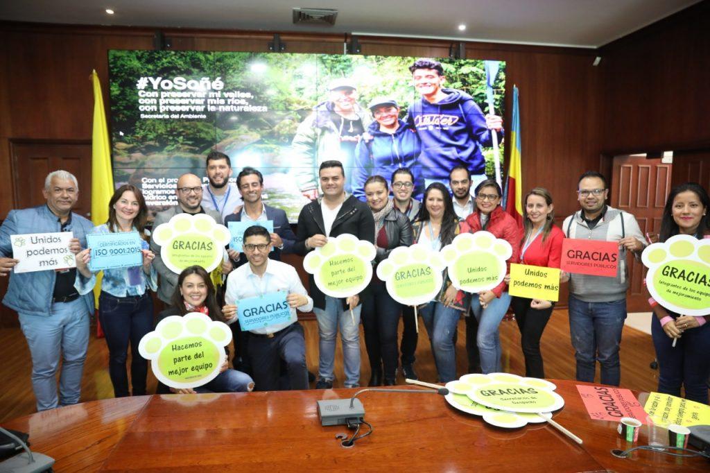 Gobernación de Cundinamarca, recertificada en calidad y en seguridad en el trabajo por Icontec