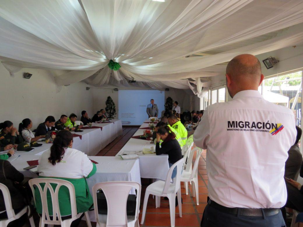 Migración Colombia y Chía trabajan para determinar la manera de judicializar a extranjeros