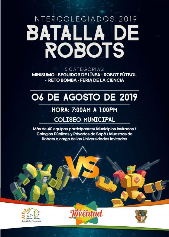 Primera Batallas  de Robots en Sopó