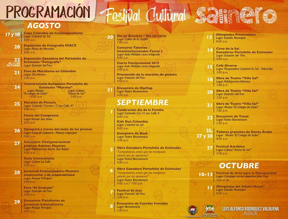 Festival Cultural Salinero en Zipaquirá