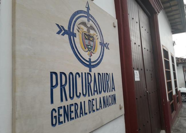 Procuraduría entregó lista al CNE de candidatos inhabilitados para elecciones de octubre