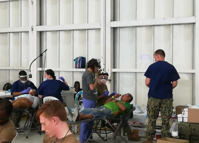 Presidente Duque agradeció misión en Santa Marta del Buque Hospital USNS Comfort de EEUU, que atendió a más de 6 mil pacientes