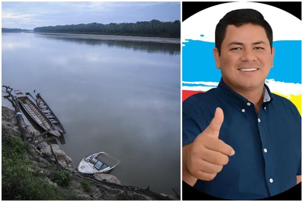 Andrés Rodas, candidato en Guainía, desapareció tras naufragio en río Guaviare