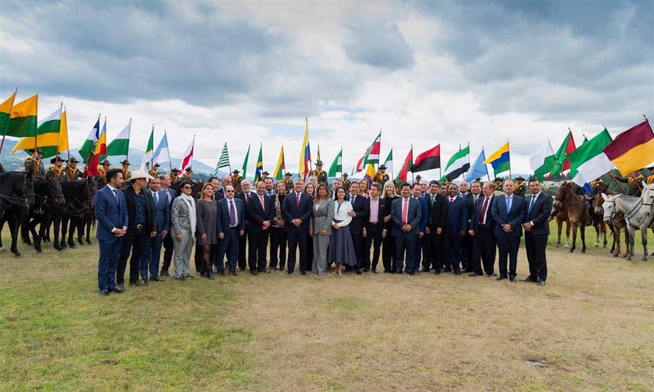 Presidente Duque resaltó el trabajo coordinado con los gobernadores del país, sin distingo de partidos ni de color político