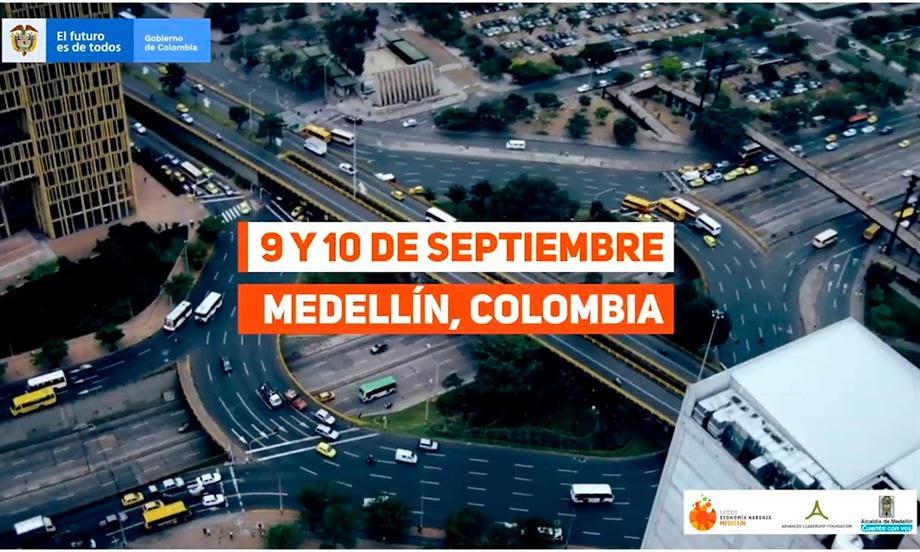Convocan a líderes de la industria creativa del país para recibir formación por parte de expertos en la primera Cumbre de Economía Naranja en Medellín