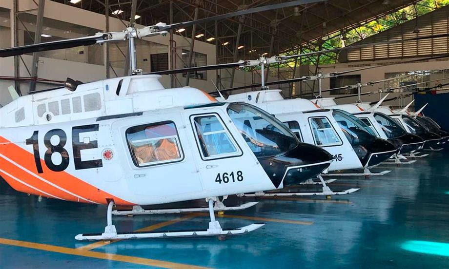 Estados Unidos entregó  60 helicópteros a la Fuerza Aérea Colombiana