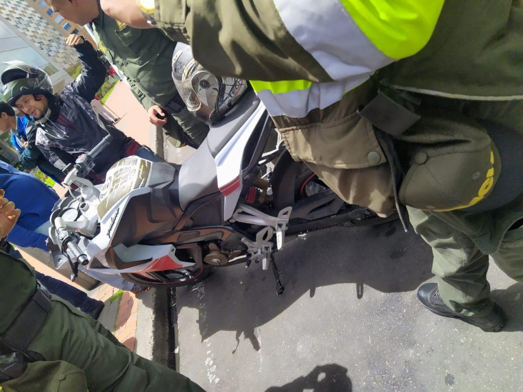 Reportan balacera en medio de un robo al norte de Bogotá