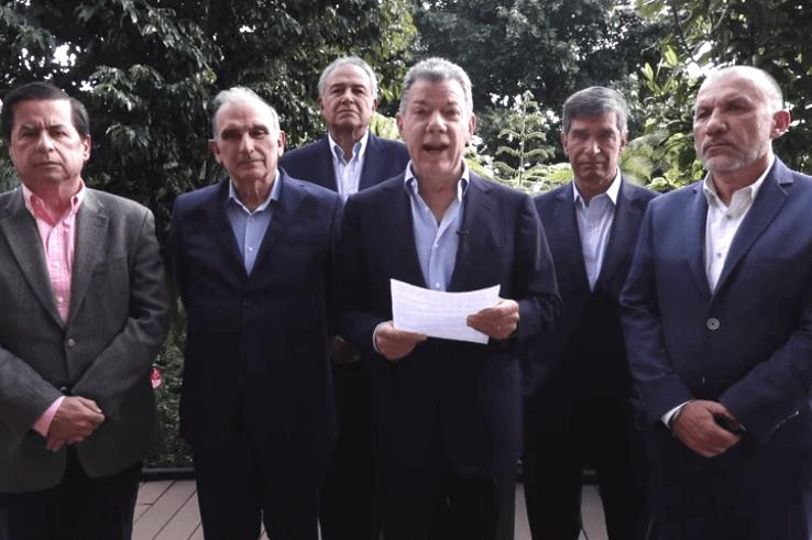 """""""Santrich"""" se voló porque sabía que lo iban a extraditar: Juan Manuel Santos"""