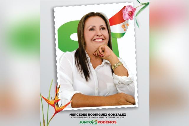 Falleció la Alcaldesa del municipio de La Mesa
