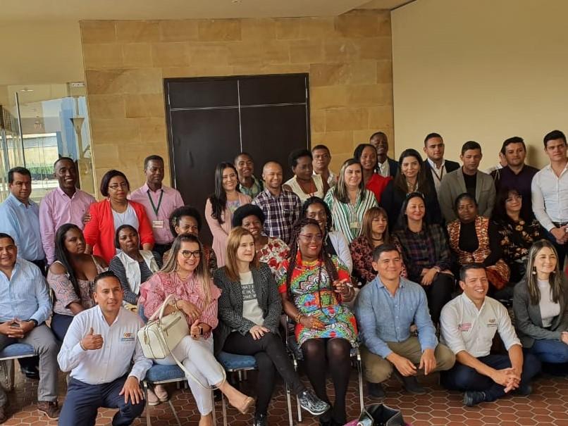 Cundinamarca expone su gestión con grupos étnicos en Encuentro Nacional de Entidades Étnicas en Medellín