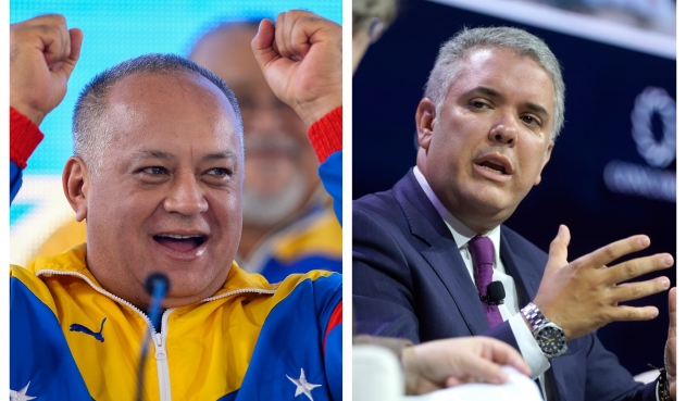 La burla de Diosdado Cabello a Iván Duque que indigna a colombianos