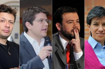Galán, M. Uribe y López se 'agarran' por apoyo de maquinarias, y Hollman saca provecho