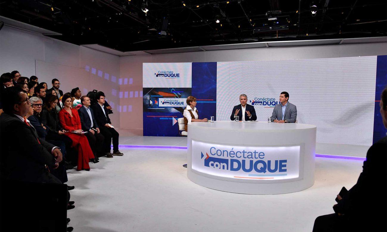 Presidente Duque destaca derecho de los colombianos a la protesta pacífica y el deber del Estado de garantizarla, y hace un llamado a rechazar y sancionar el vandalismo