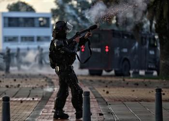 Esmad disparó contra joven estudiante, su pronóstico es reservado
