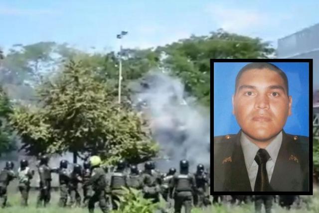 Este es el parte médico del policía herido durante disturbios en Neiva