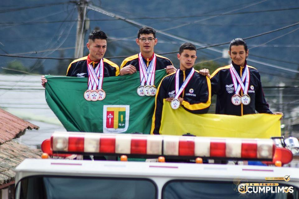 Deportistas tenjanos, se destacaron en el World Games Martial Arts